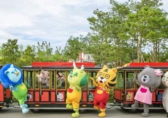 봄을 맞이한 삼국유사테마파크 '2021 컬러 축제'